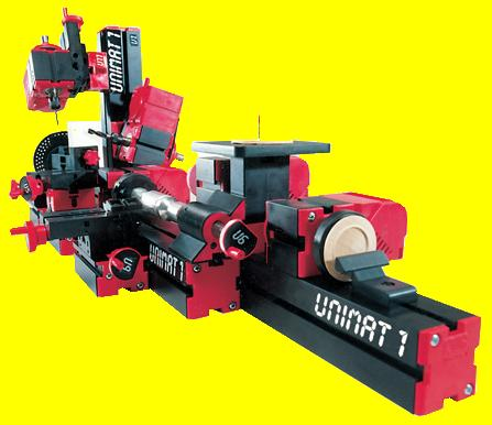 830-00 UNIMAT 1 Lathe 6 Tools in 1