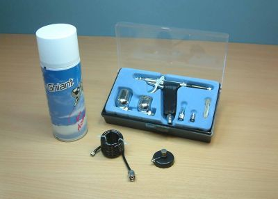 AB778 Expo Starter Pistol Grip Airbrush Set