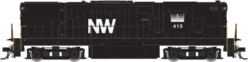 Atlas 40002361 Master C420 High Nose Norfolk & Western 417 (DCC-Fitted)