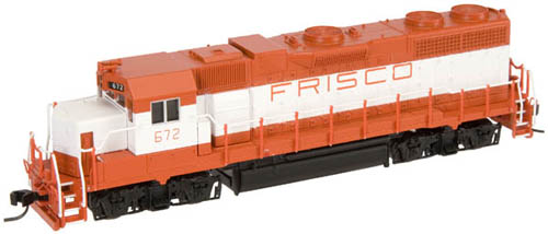 Atlas 47655   Master GP38-2 Frisco 672