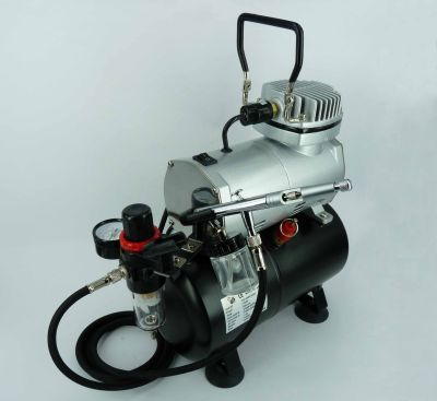 BA309 Expo Oil less Piston Compressor and Airbrush deal