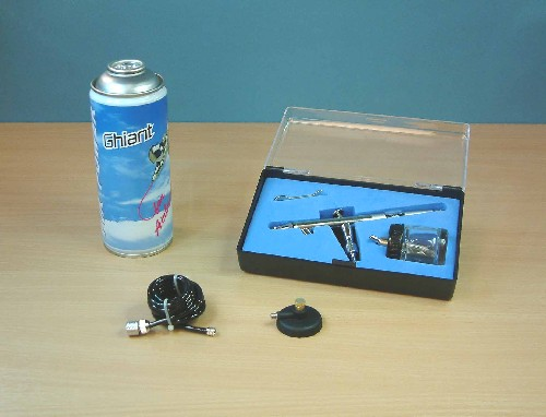 Expo AB702 Bottom Feed Airbrush Starter Set