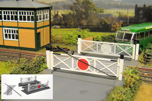 how to make moving gates for a model