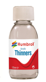 Humbrol AC7433  Acrylic Thinners 125ml Bottle