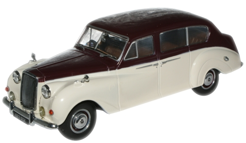 Oxford Diecast AP005  Austin Princess (Late) Maroon/Old English White