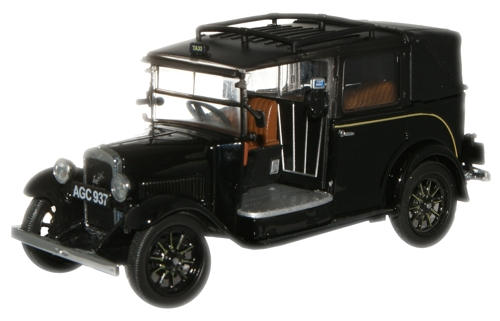 Oxford Diecast AT001 - O Scale Austin Low Loader Taxi Black