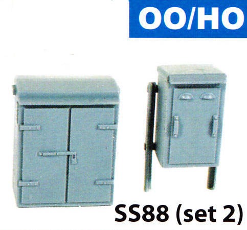 SS88 Wills OO Scale Relay Boxes Set 2