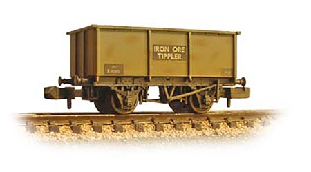 377-277B(5) Graham Farish 16T Steel Mineral BR Grey (Weathered)