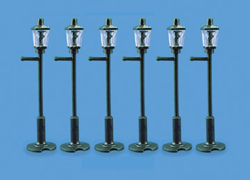 5004 Modelscene: OO ACCESSORIES  Gas Lamp Posts