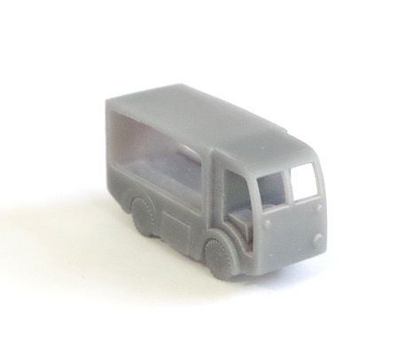 Arch Laser A3D0001 N Gauge NCB Milk Float (no doors) unpainted