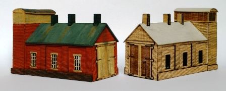 ARCHN0024 Arch Laser : Small Rural Engine Shed based on Tetbury (GWR) N Gauge