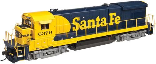 Atlas 40002408 Master B23-7 Santa Fe 6372 (DCC-Fitted)