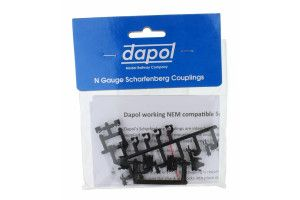 Dapol 2A-000-029 Scale: 1:148, N Scharfenburg Coupler (Short/Medium Or Long) 1pr