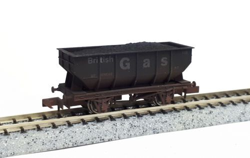Dapol 2F-034-058 21t Hopper British Gas 148 Weathered