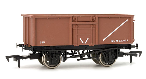 Dapol 4F-030-005  15t Steel Mineral Wagon BR Bauxite (5 Pack)