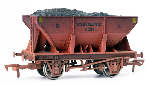 Dapol 4F-033-008  24t Steel Ore Hopper Dorman Long Weathered