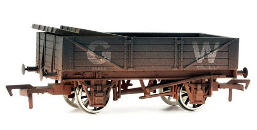 Dapol 4F-040-006 4 Plank Wagon GWR 45506 Weathered