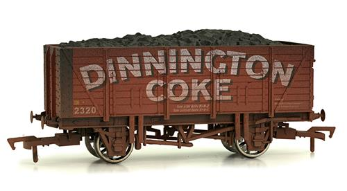 Dapol 4F-090-101  9 Plank Wagon Dinington Coke Weathered