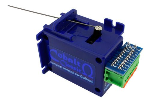 DCC Concepts DCP-CB1 Omega COBALT Omega Slow Action Analogue Point Motor