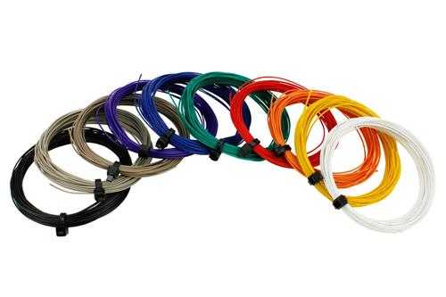 DCC Concepts DCW-32SET Pack of all Decoder Wire Colours (32g Stranded Wire)