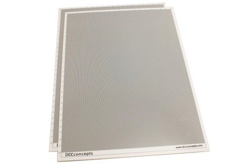 DCC Concepts SS100 Smart Styrene 1.0mm (2 Sheets)
