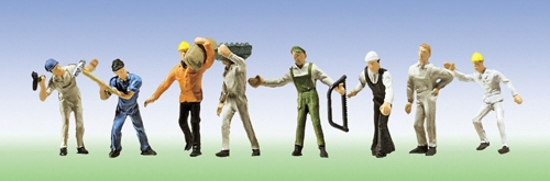 Faller 155315 N Scale  Construction Workers