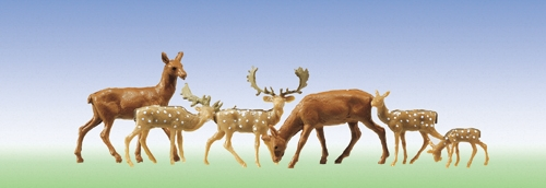 Faller 155509 N Scale  Fallow and Red Deer