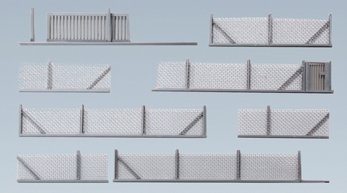 Faller 272420 N Scale Metal Industrial Fencing