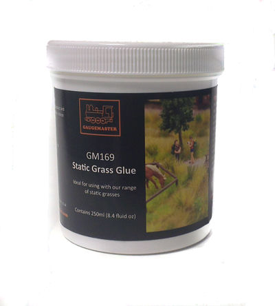 Gaugemaster GM169 Static Grass Glue (250ml)