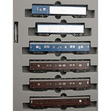 Kato 10-899 - N Scale Post/Cargo Train Tokaido/Sanyo 6 Car Set