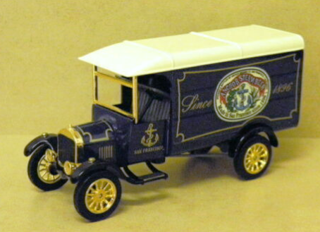 Matchbox - YGB13 1926 Ford TT Van 'Anchor Steam' Great Beers Diecast Model Van