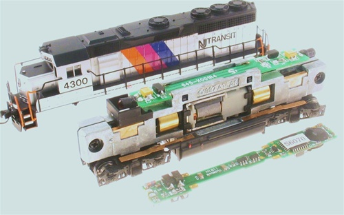 MRC 0001812 N Scale Sound Decoder Drop-In Most Atlas
