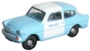 N105003 Oxford Diecast 1/148 Scale Ford Anglia Police Panda Car