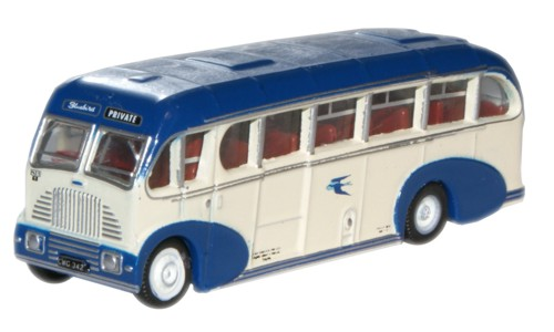 NBS001 Oxford Diecast Burlingham Sunsaloon Alexander 'Bluebird'