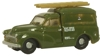 NMM007 Oxford Diecast 1/148 Scale Morris 1000 Van PO Telephones Green