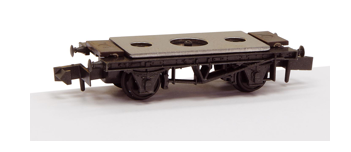 NR-121D Peco 10' Steel Wagon Underframe  Kit with Disc Wheels