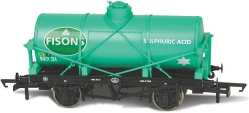 OR76TK2005 Scale: 1:76, OO *12t Tank Wagon Fisons Sulphuric Acid 31