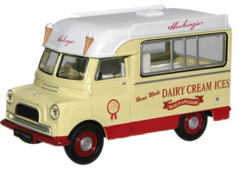 Oxford Diecast 76CA030 Bedford CA Ice Cream Hockings