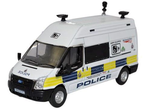 Oxford Diecast 76FT026 Ford Transit LWB High Network Rail Speed Camera