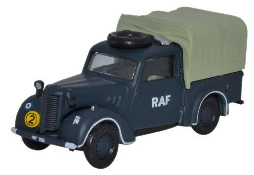 Oxford Diecast 76TIL010 Austin Tilly RAF Blue