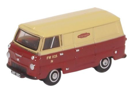Oxford Diecast NFDE001 Ford 400E Van British Rail