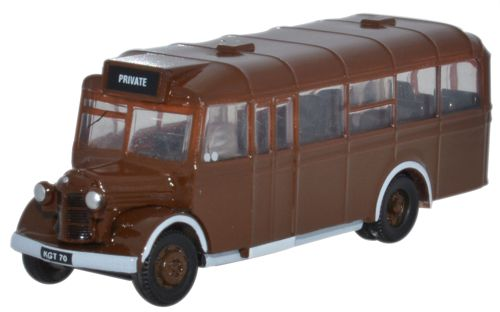 Oxford Diecast NOWB002  Bedford OWB Brown As Delivered