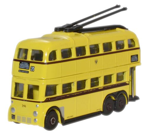 Oxford Diecast NQ1008 - N Scale Q1 Trolleybus Bournemouth BUT