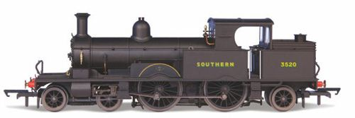 Oxford Rail OR76AR007 Adams Radial Steam Loco - Southern Late Sunshine Lettering