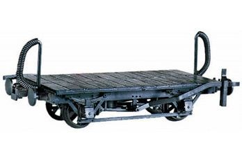 Peco OR-40: 4-Wheel Wagon Chassis Kit