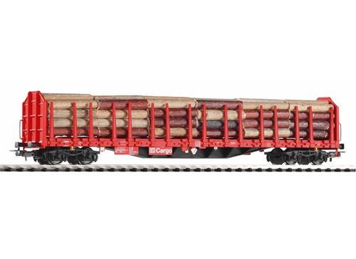 Piko 54339 DB Cargo Roos-t642 Stake Wagon with Timber Load V