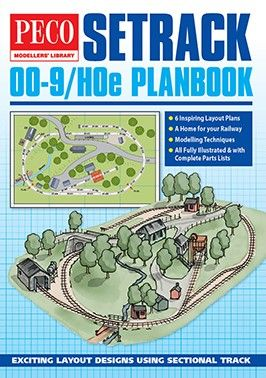 PM-400    PECO  Modellers' Library Setrack OO-9 (HOe) Planbook