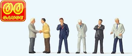 Preiser 73006 High Quality OO Scale - Businessmen (6)
