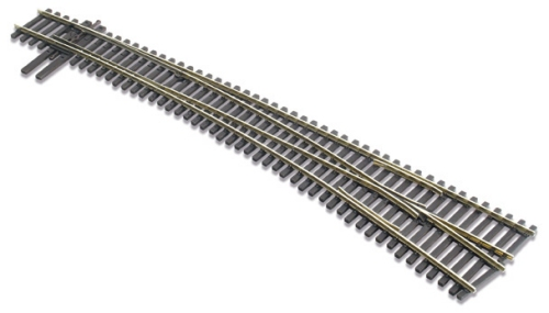 SL-8376 Peco Code 83 North American Type #7 R/Hand Curved Turnout