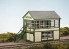 SS48 Wills: OO BUILDINGS KITS  Timber Signal Box